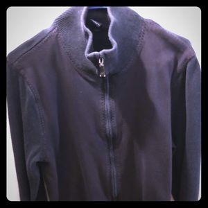 Gap full zip cotton sweater
